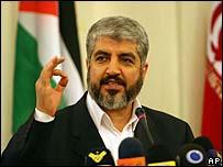 خالد مشعل في طهران