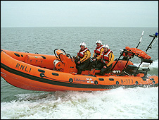 Redcar RNLI lifeboat