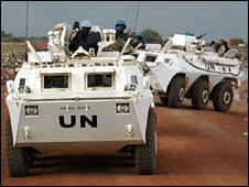 UN peacekeepers in Abyei