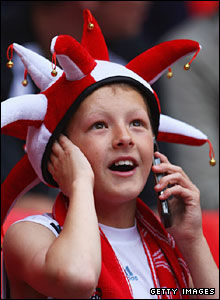 A young Bristol City fan