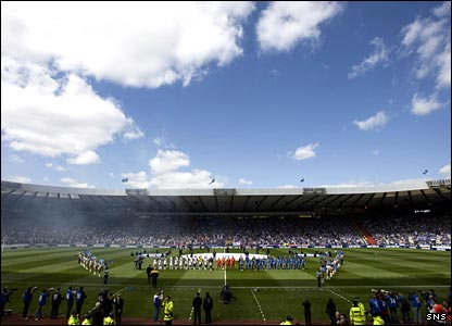 Hampden on cup final day