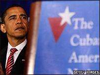Barack Obama, durante la celebración del Día de la Independencia Cubana, el 23 de mayo