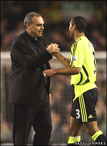 Avram Grant, Ashley Cole