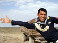 """...проходящего на Гоа, стал казахский фильм  """"Тюльпан """" режиссера Сергея..."""