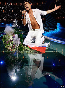 Russian pop star Dima Bilan