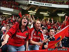 Munster fans dominated the day at the Millennium Stadium