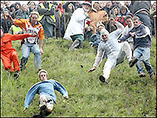 Cheese-rolling