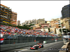 Lewis Hamilton during the Monaco Grand Prix