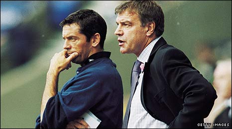 Phil Brown and Sam Allardyce