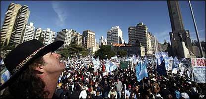 Manifestación del campo en Rosario
