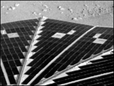 The solar arrays have been deployed (Nasa)