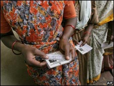 Voting in Karnataka assembly elections