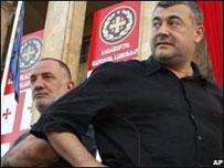 Лидеры оппозиции Грузии