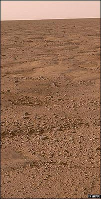 Paisaje marciano captado por Phoenix, NASA