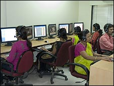 Indian outsourcing office