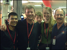Microscopy team (Tom Pike)