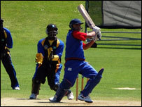 Afghanistan bat against Bahamas