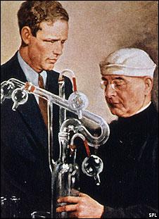 Charles Lindbergh and Alexis Carrel