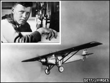 Charles Lindbergh and the Spirit of St Louis