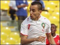 Morocco's Soufiane Alloudi