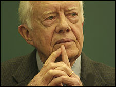 Ex-US President Jimmy Carter (Image: Hay-on-Wye festival)