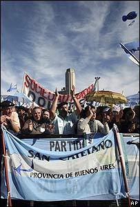 Manifestación en Rosario