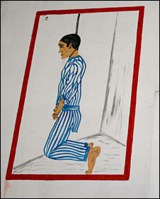 Mr Baron commissioned  paintings of a concentration camp victim to hang in his house