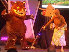 The Gruffalo on stage