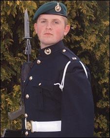 Royal Marine Dale Gostick