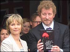 Lucy Fleming and Sebastian Faulks