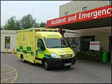 The new South Central Ambulances