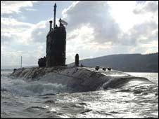 HMS Superb (Pic: MoD)