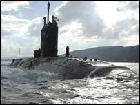 """Подводная лодка """"Суперб"""" (Фото: Министерство обороны)"""