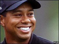 Tiger Woods pictured during the 2008 Masters