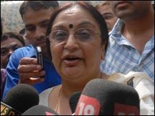 Mother Neelam Katara (Picture: Naveen Sharma)