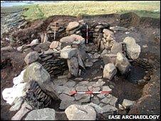 Bressay montículo [Pic: EASE Arqueología]
