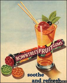 Advert for Rowntree's Fruit Gums