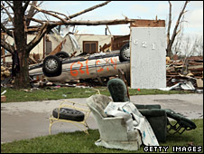Greenberg after tornado