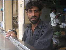 Mohammad Azeem of Sabri Hotel