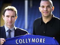 Current Villa boss Martin O'Neill and Collymore