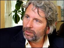Comedian Dirk Sterman