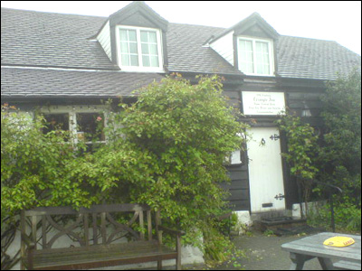 The Triangle Inn in Cwmdauddwr