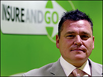 Insure and Go founder and owner, Perry Wilson