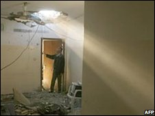 Aftermath of Beit Hanoun shelling