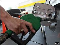 Gasolinera en Venezuela