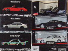 Some of the cars in the collection (picture: Halls)
