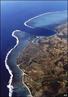 Fiji's coral reefs. Image: AP