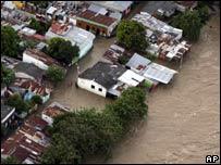 La ciudad de Honda inundada por el río Magdalena