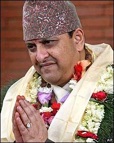Former King Gyanendra
