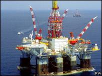 Planta petrolífera en México